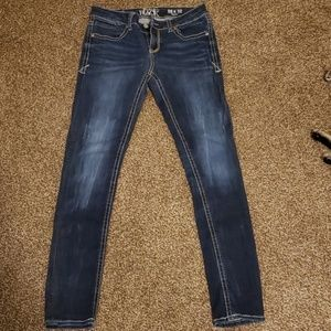 Buckle black BKE skinny jeans
